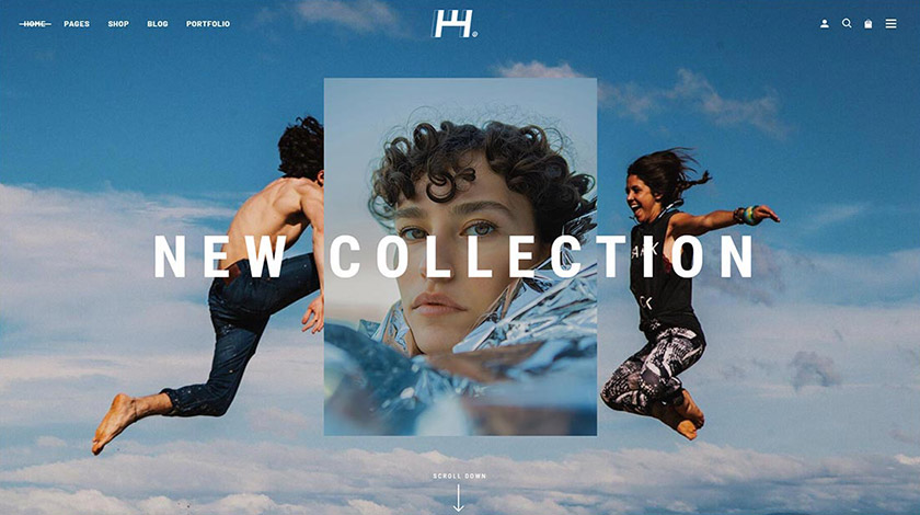 Haaken WordPress Theme