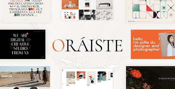 Oraiste WordPress Theme