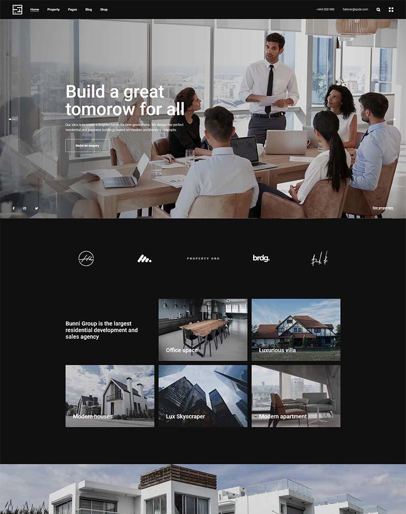 Fokkner WordPress Theme