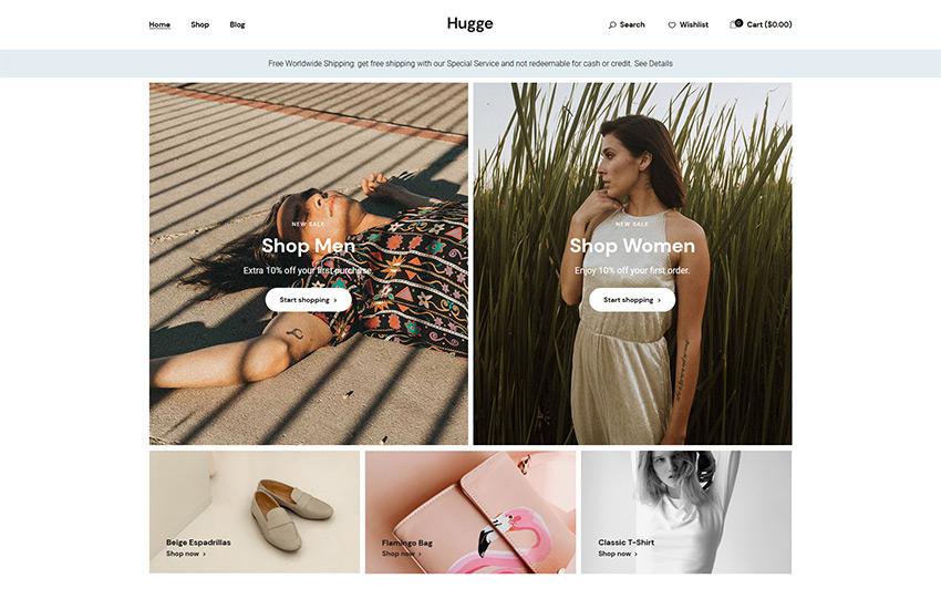 Hugge WordPress Theme