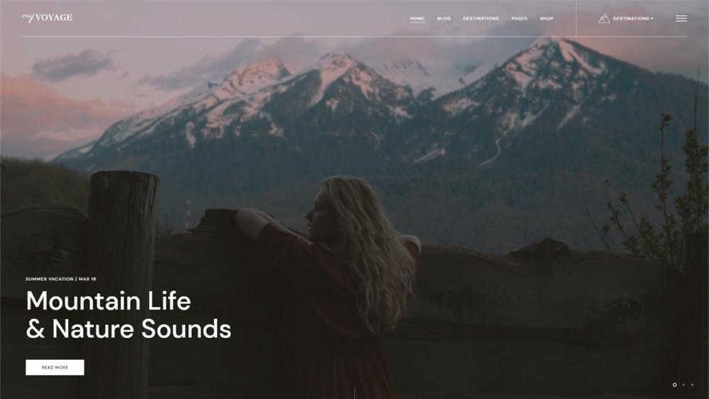 MyVoyage WordPress Theme