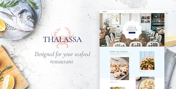 Thalassa WordPress Theme