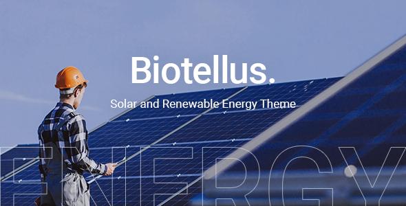 Biotellus WordPress Theme