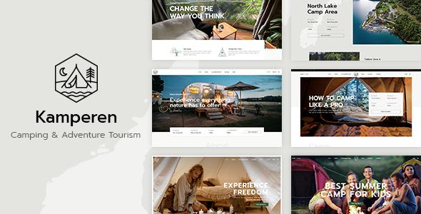 Kamperen WordPress Theme